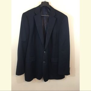 NAUTICA MENS BLAZER, Navy Blue
